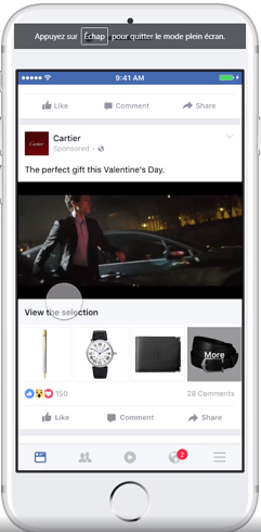 cartier facebook collection