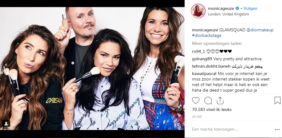 monicageuze instagram post