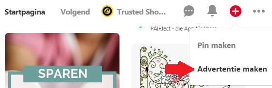 Pinterest Advertentie maken locatie