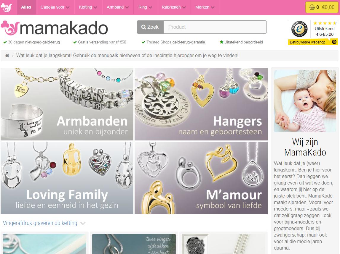 MamaKado website