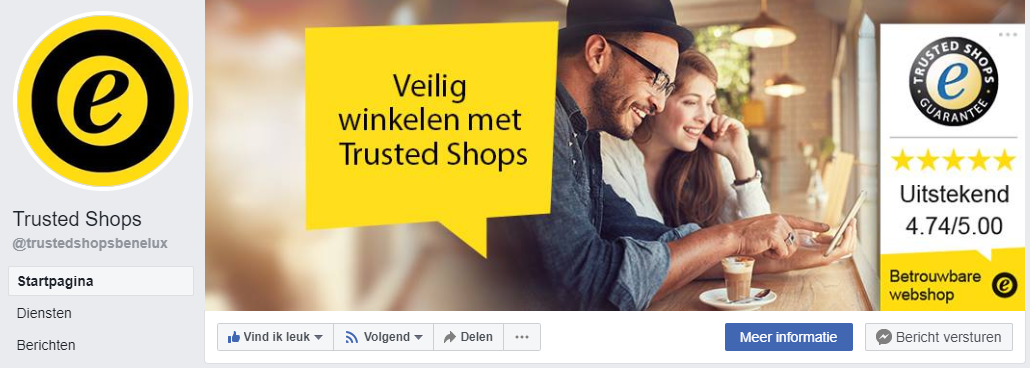 Trusted shops Facebook