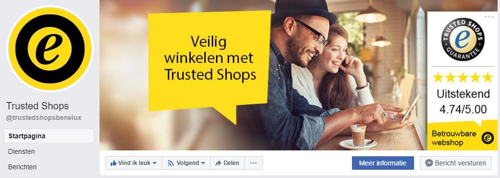 Trusted shops Facebook