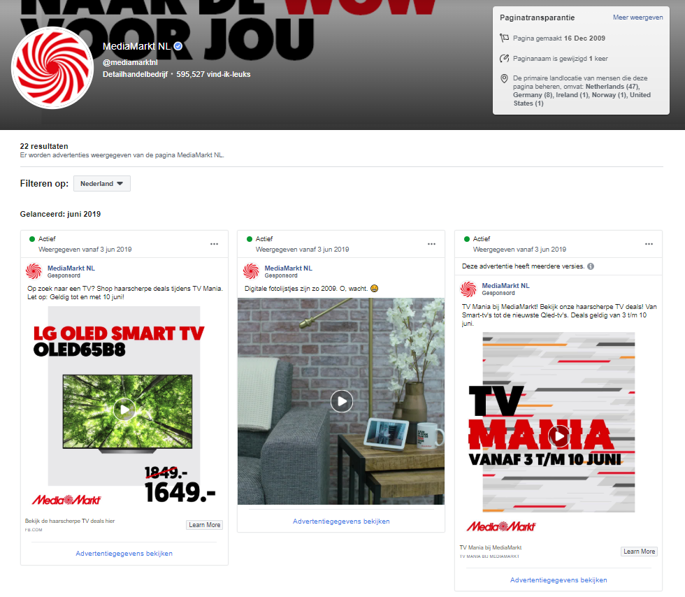 Mediamarkt advertenties