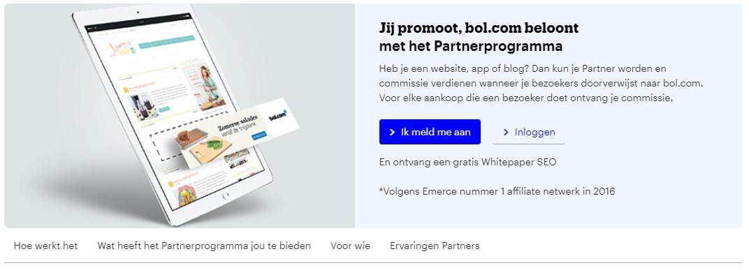 bol.com affiliate marketing