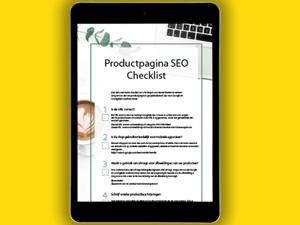 Productpagina SEO checklist