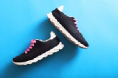 sneakers onscherp