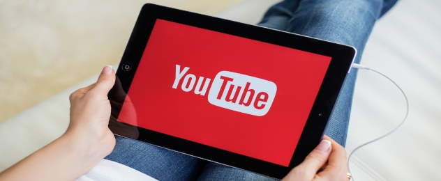 YouTube op tabler
